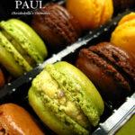[記食] 仁愛圓環的 PAUL: des macarons