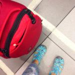 [記旅] 日本小伴旅:KEEN 護趾涼鞋 Whisper 試穿