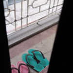 [購物] 便宜的撞色繽紛夾腳拖鞋:台南雙全昌鞋行
