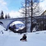 [記旅] 跌個四腳朝天還是要玩:瑞士 Bergün 滑雪橇(Schlitteln)