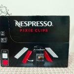 [購物] 再忙也可以來一杯咖啡:Nespresso Pixie Clips 咖啡機 試用