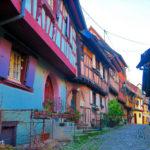 [記旅] 從瑞士出發:法國阿爾薩斯省童話小鎮(II)埃吉桑 Eguisheim (法國最美小鎮)