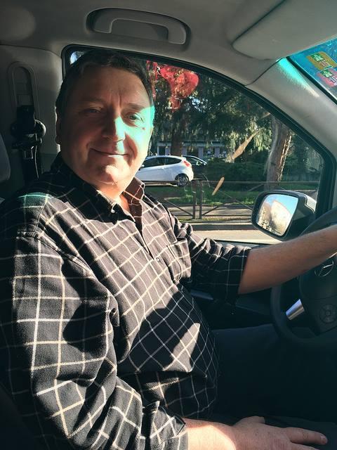 colmar計程車司機Christophe大哥
