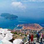 [記旅] 2018 冰火謳歌:克羅埃西亞 Dubrovnik 搭纜車上 Srd 山看老城